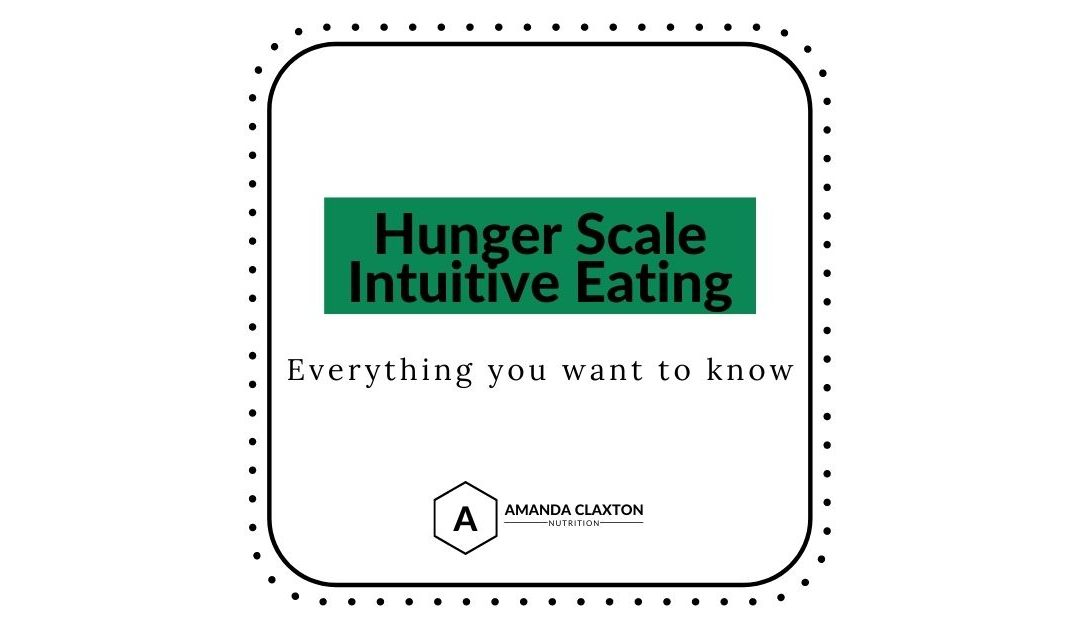 Hunger Scale Intuitive Eating: Everything You Want to Know